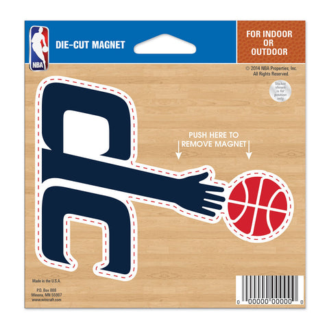 "Washington Wizards 4.5"" DieCut Logo Magnet"