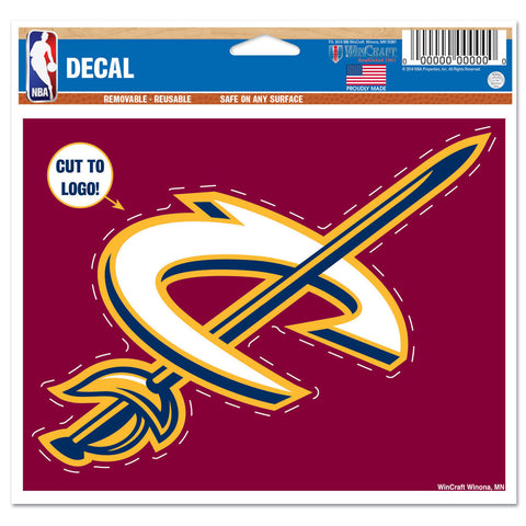 "Cleveland Cavaliers 4 1/2"" Multi Use Decal"