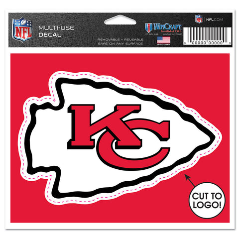 "Kansas City Chiefs 4 1/2"" Multi Use Decal"
