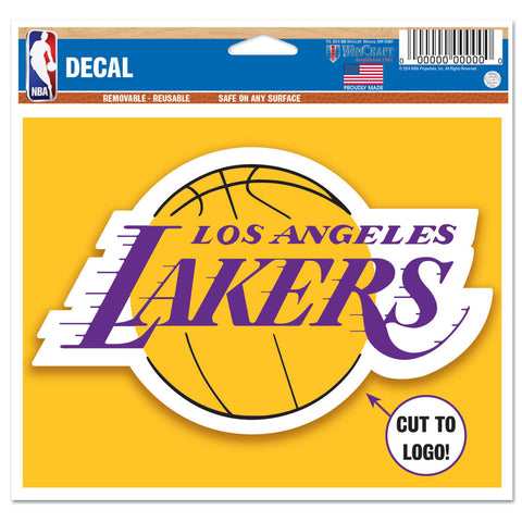"Los Angeles Lakers 4 1/2"" Multi Use Decal"