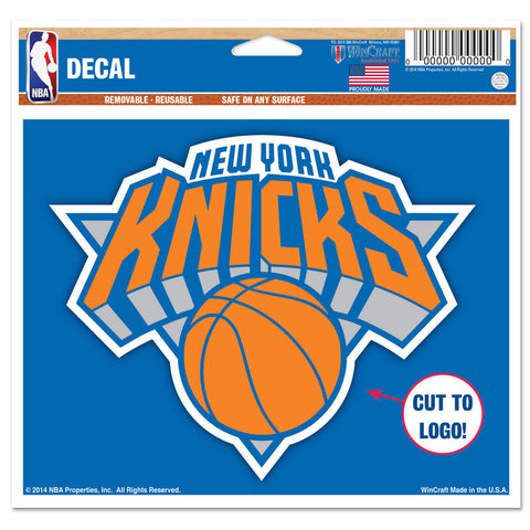 "New York Knicks 4 1/2"" Multi Use Decal"