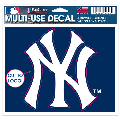 "New York Yankees 4 1/2"" Multi Use Decal"