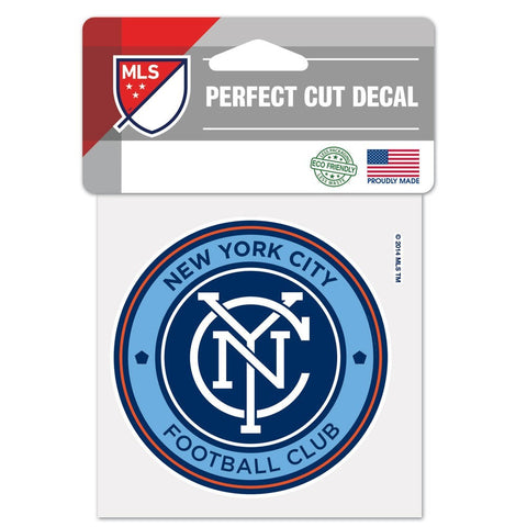 "New York City FC 4""x4"" DieCut Decal Logo"