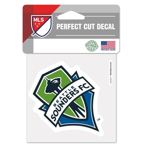 "Seattle Sounders 4""x4"" DieCut Decal Logo"