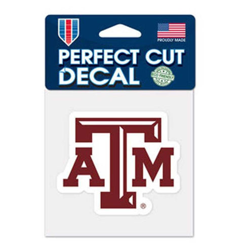 "Texas A&M Aggies 4""x4"" DieCut Decal Logo"