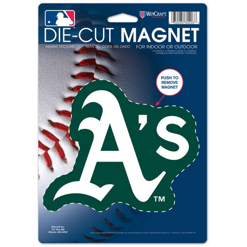 "Oakland Athletics 8"" Die Cut Magnet"