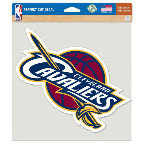 "Cleveland Cavaliers 8""X8"" Decal Color"