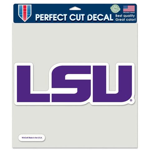 "LSU Tigers 8""X8"" Decal Color"