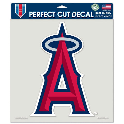 "Los Angeles Angels 8""X8"" Decal Color"