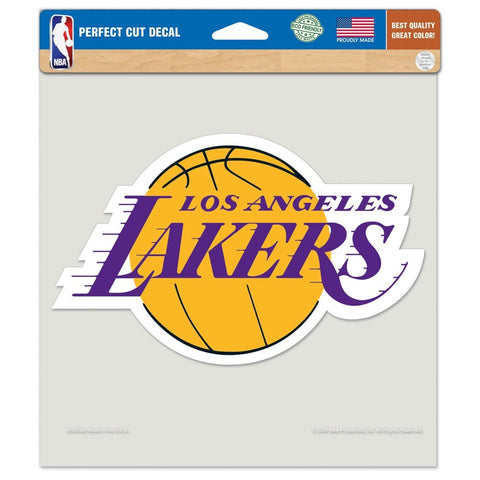 "Los Angeles Lakers 8""X8"" Decal Color"
