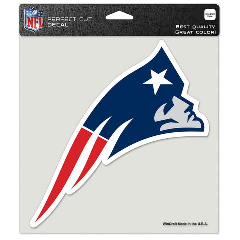 "New England Patriots 8""X8"" Decal Color"