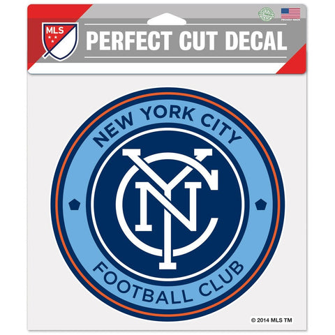 "New York City FC 8""X8"" Decal Color"