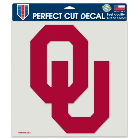 "Oklahoma Sooners 8""X8"" Decal Color"