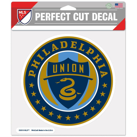 "Philadelphia Union 8""X8"" Decal Color"