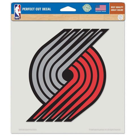 "Portland Trail Blazers 8""X8"" Decal Color"