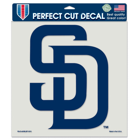 "San Diego Padres 8""X8"" Decal Color"