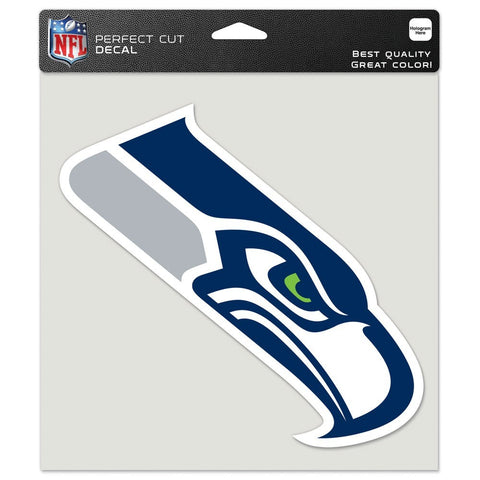 "Seattle Seahawks 8""X8"" Decal Color"
