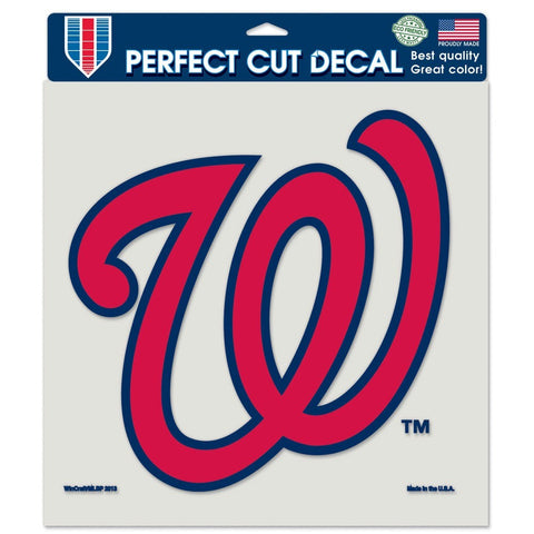 "Washington Nationals 8""X8"" Decal Color"