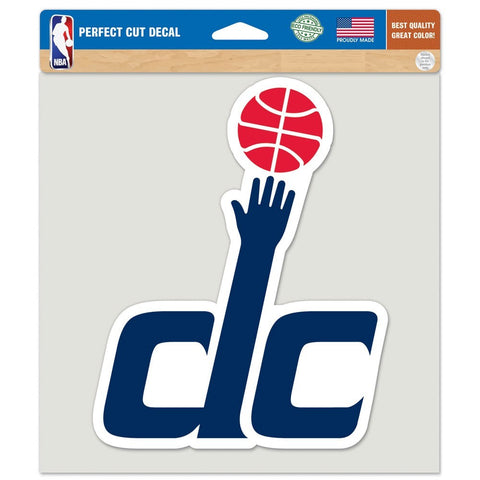 "Washington Wizards 8""X8"" Decal Color"
