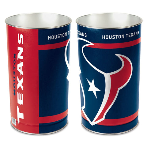 Houston Texans Trash Can