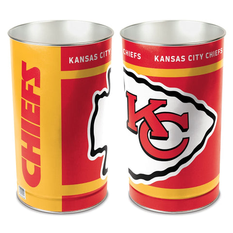 Kansas City Chiefs Trash Can
