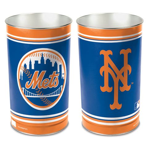 New York Mets Trash Can