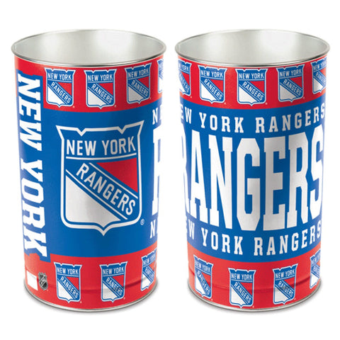 New York Rangers Trash Can
