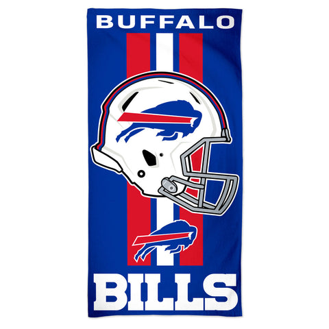 Buffalo Bills Center Logo Beach Towel