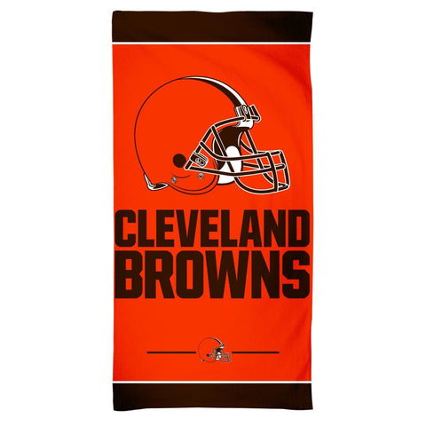 Cleveland Browns Center Logo Beach Towel