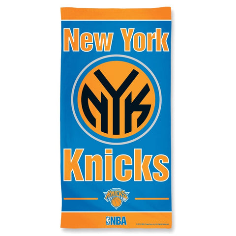 New York Knicks Center Logo Beach Towel