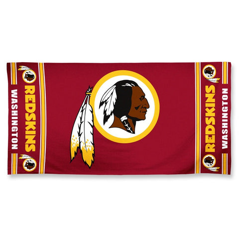 Washington Redskins Center Logo Beach Towel