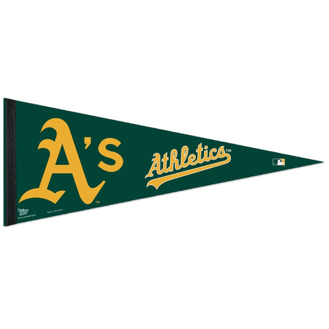 Oakland Athletics Felt Pennant