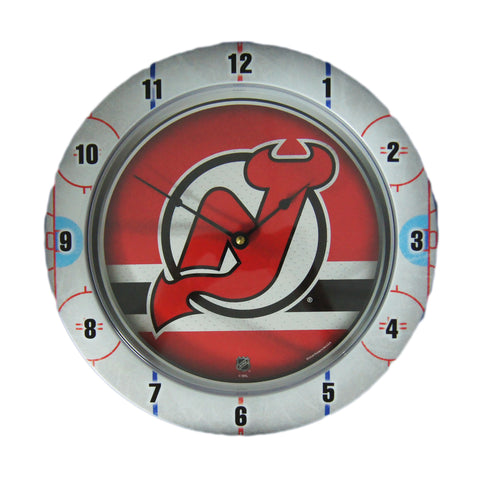 New Jersey Devils Gametime Field Clock