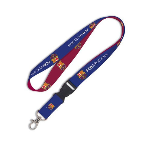 FC Barcelona Lanyard with Buckle