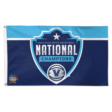 2018 NCAA Men's Basketball Champions 3' x 5' Deluxe Flag with Grommets
