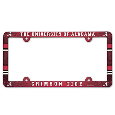 Alabama Crimson Tide Plastic Frame Color