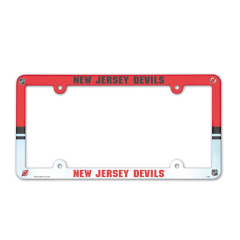 New Jersey Devils Plastic Frame Color