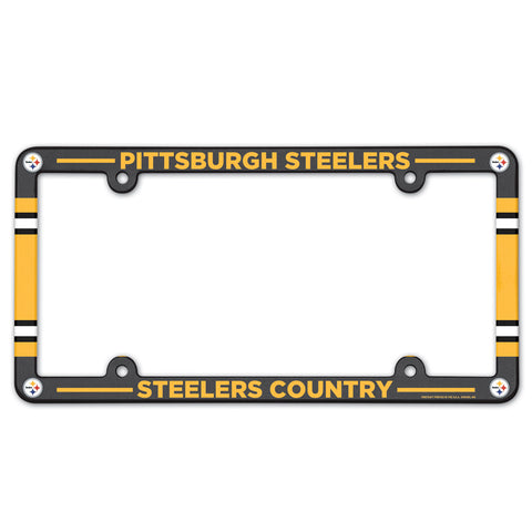 Pittsburgh Steelers Plastic Frame Color