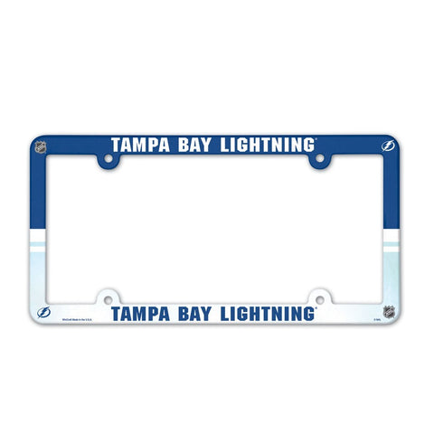 Tampa Bay Lightning Plastic Frame Color