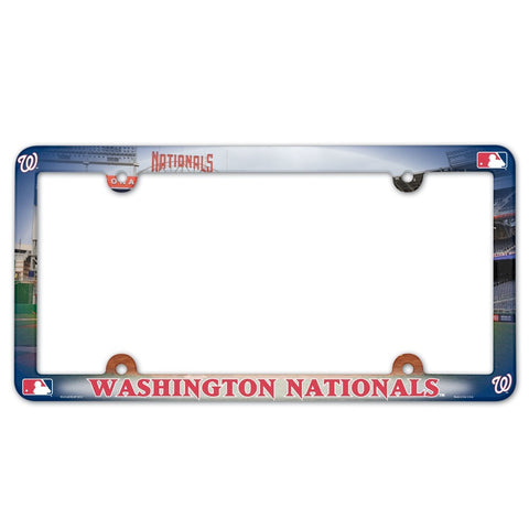 Washington Nationals Plastic Frame Color