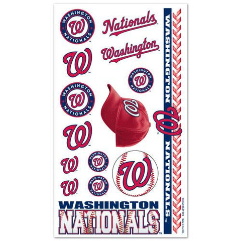Washington Nationals Temporary Tattoos