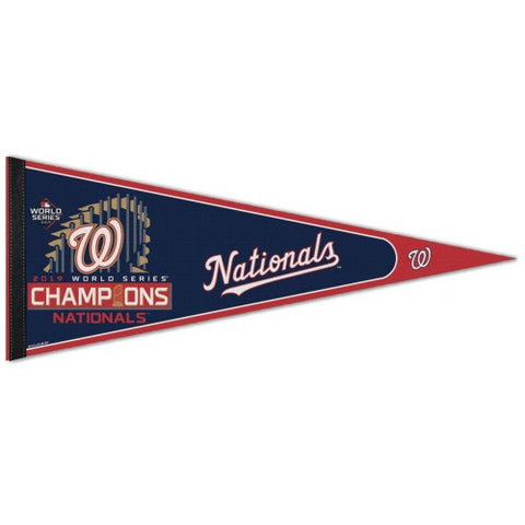 Washington Nationals 2019 World Series Champion Classic Pennant