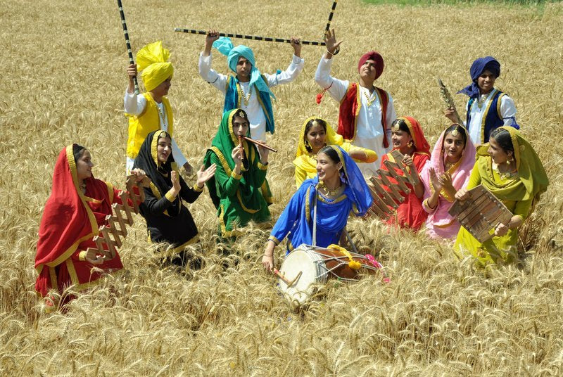 Brimming Joy – On Baisakhi