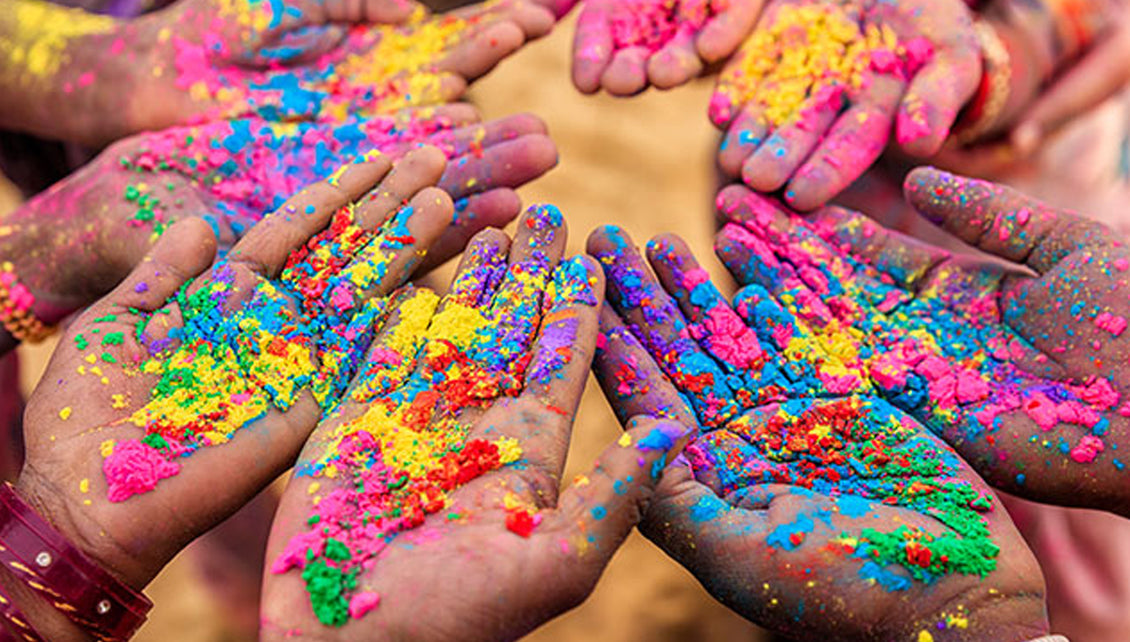 Why we have so many colors in Holi