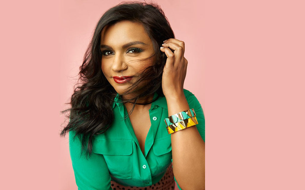 Mindy Kaling's Shopping Cart