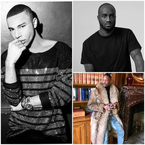 Olivier Rousteing, Virgil Abloh & LaQuan Smith