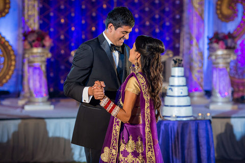 Valentines Day South Asian Couple