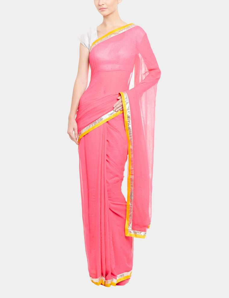 The Tonette Saree