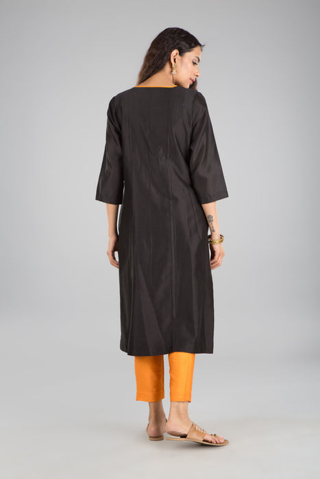 Chandni black tunic & pants