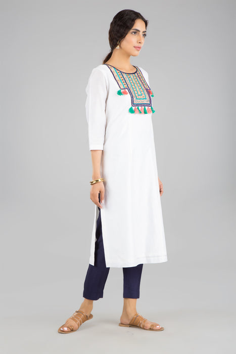 Safa white tunic & pants